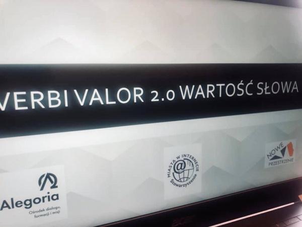 """Konferencja """"Verbi valor 2.0"""""""